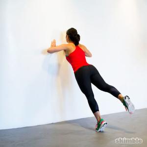 Wall pushup_Skimble